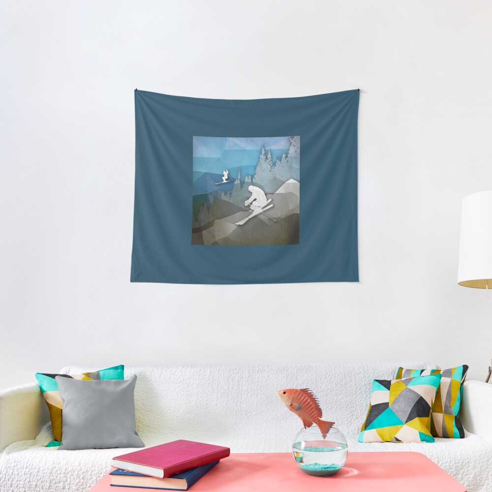 The Skiers Tapestry
