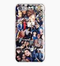 the walking dead cast collage iPhone Case/Skin
