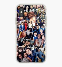the walking dead cast collage iPhone Case