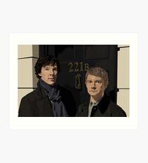 """221B"" Art Print"