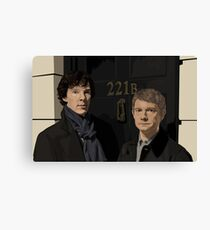 """221B"" Canvas Print"