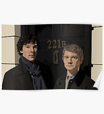 """221B"" Poster"