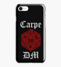 Carpe DM iPhone Case/Skin
