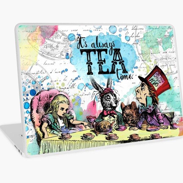 Alice in Wonderland - Tea Time Laptop Skin
