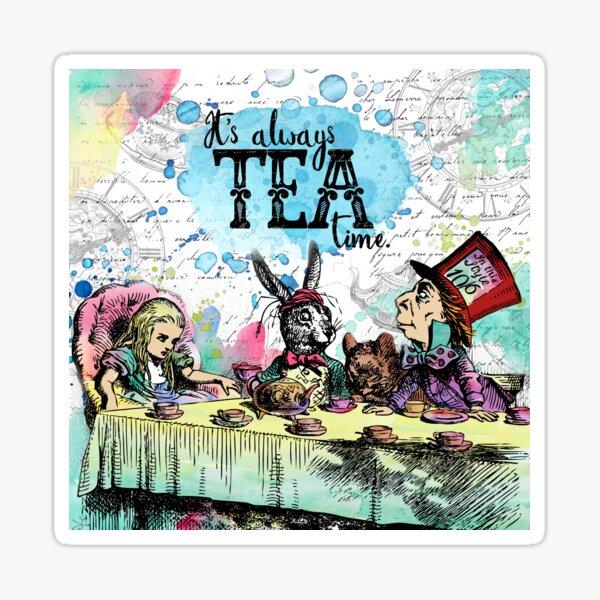 Alice in Wonderland - Tea Time Sticker