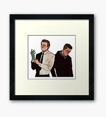 Elliot & Tyrell Framed Print