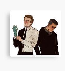 Elliot & Tyrell Canvas Print