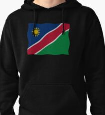 Namibian flag Pullover Hoodie