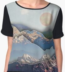 Rolling Mountains Women's Chiffon Top