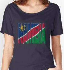 Namibia flag Women's Relaxed Fit T-Shirt