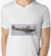 Guy Martin`s Spitfire 2 Men's V-Neck T-Shirt