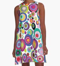 Confetti Dots A-Line Dress