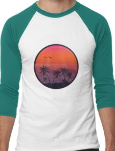 PANAMA BEACH SUNSET Men's Baseball ¾ T-Shirt