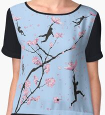 Blossom Flight Women's Chiffon Top