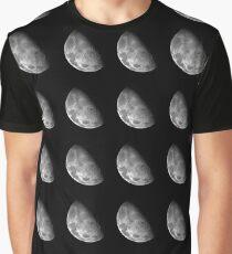 Moon - North Pole Mosaic Graphic T-Shirt
