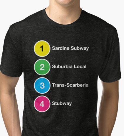 TTC Parody Line Names Tri-blend T-Shirt