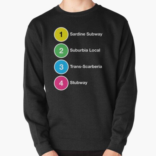 TTC Parody Line Names Pullover Sweatshirt