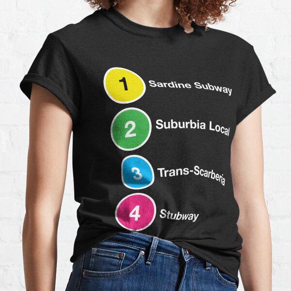 TTC Parody Line Names Classic T-Shirt