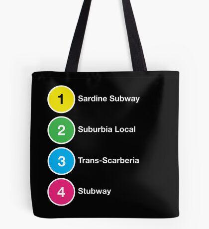 TTC Parody Line Names Tote Bag