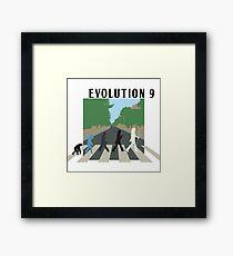 Evolution #9 (Beatles' Abbey Road/March of Progress) Framed Print
