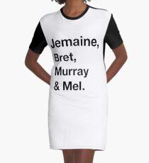 The Flighty Four Graphic T-Shirt Dress