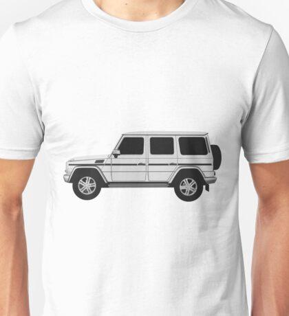 Mercedes-Benz  G Wagon - side Unisex T-Shirt