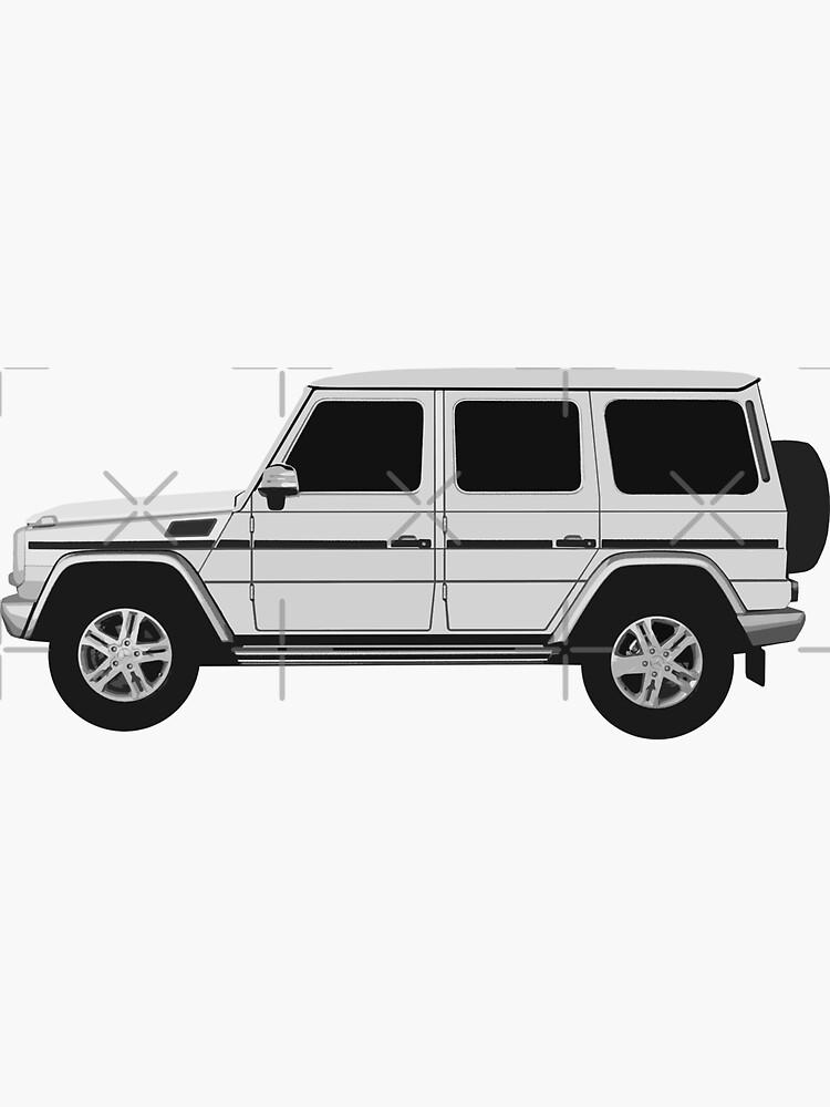 Mercedes-Benz G Wagon - Seite von MandalaPics