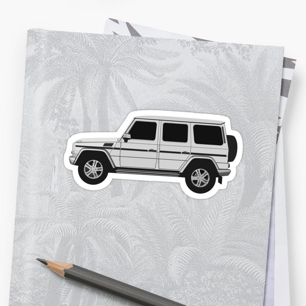Mercedes-Benz G Wagon - Seite Sticker