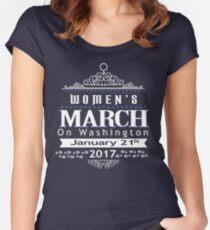Million Women's March on Washington 2017 Women's Fitted Scoop T-Shirt
