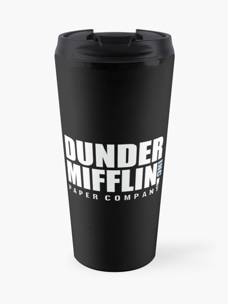 75883dc5 Dunder Mifflin The Office Funny Typography Text Logo Shirts