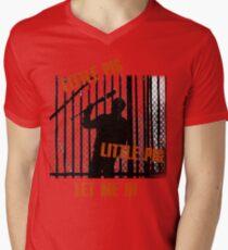 Little Pig..Little Pig Men's V-Neck T-Shirt