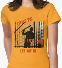 Little Pig..Little Pig Women's Fitted T-Shirt