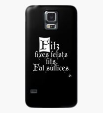 The Fitz and The Fool (Fitz) Case/Skin for Samsung Galaxy