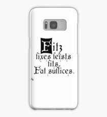 The Fitz and The Fool (Fool) Samsung Galaxy Case/Skin