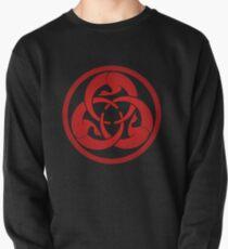 Hagakure Red Pullover Sweatshirt