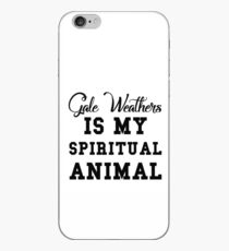 scabies weathers is my spiritual animal iPhone Case