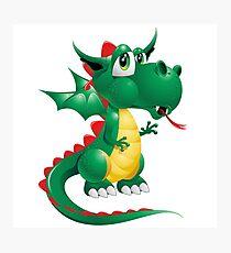 Draco the Keywebco Dragon  Photographic Print
