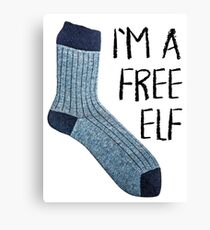 Free elf Canvas Print