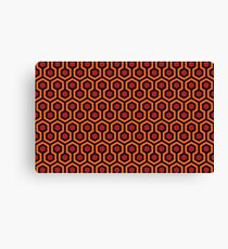 The Shining - Overlook Hotel Carpet pattern Canvas Print