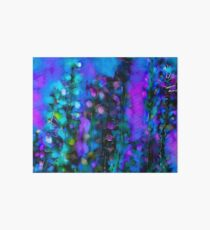 Abstract Art Floral Duvet Cover Art Board