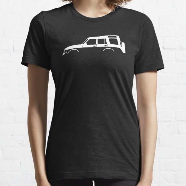 4x4 silhouette - Disco Landy series 1 classic Essential T-Shirt
