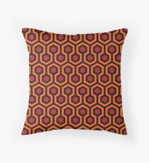 The Shining - Overlook Hotel Carpet pattern Throw Pillow