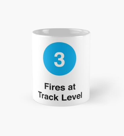 Fires at Track Level Mug