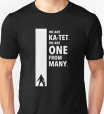The Dark Tower Ka white Unisex T-Shirt