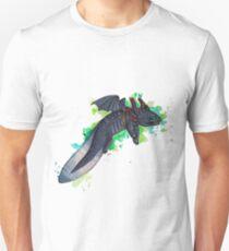 Toothless The Axolotl  Unisex T-Shirt
