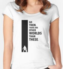 The Dark Tower Worlds Women's Fitted Scoop T-Shirt