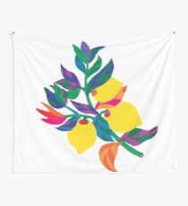 Lemon Abstract Print iPhone 6 Case Wall Tapestry