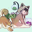 Succulent Kigu - Shiba by Victoria Courtney