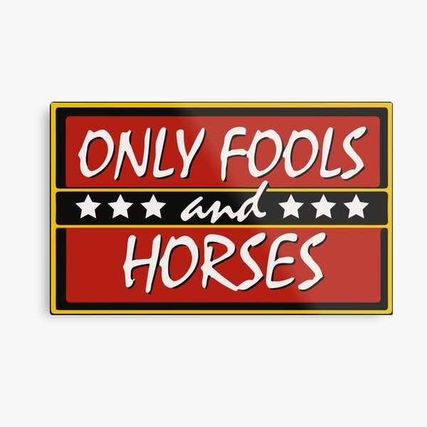 Only Fools And Horses Funny British TV Show Shirts Metal Print