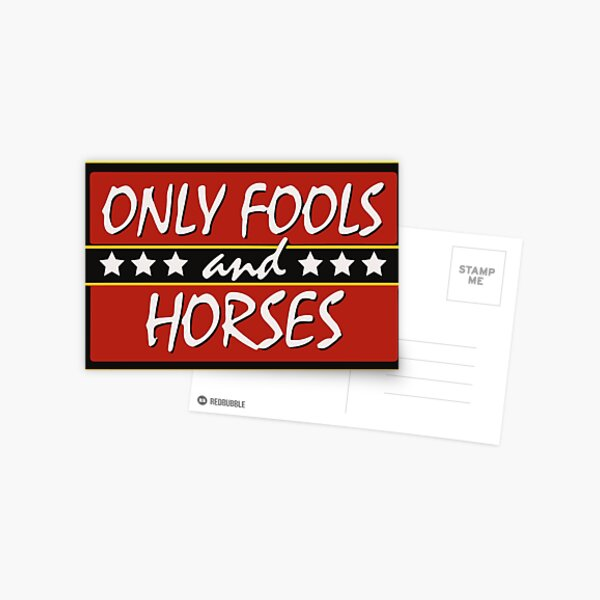Only Fools And Horses Funny British TV Show Shirts Postcard